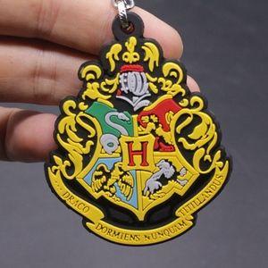Harry Potter Hogwarts Emblem Soft Keychain Cosplay